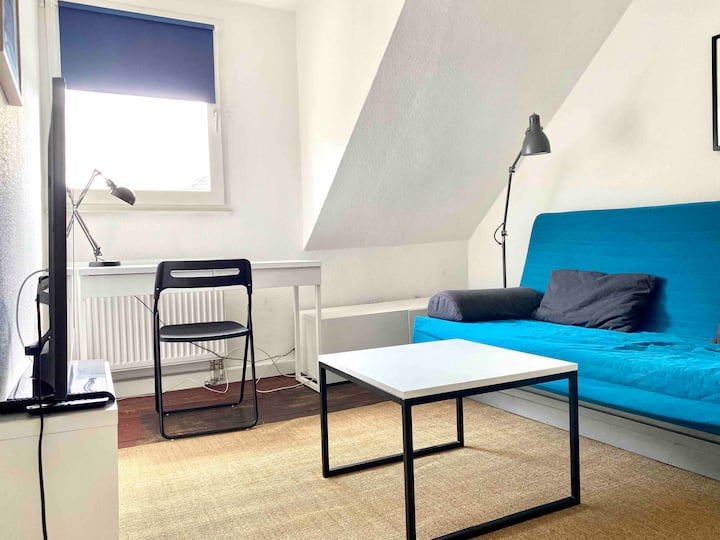 Cosy Roof-Apartment near Aachen