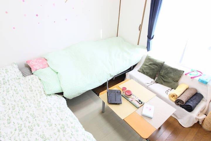 NEW! Welcome muslim,JR Osaka,UMEDA in 10min! Wi-Fi