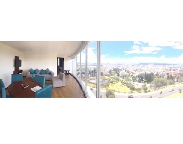 Suite 7º vistas únicas en el sector Quito Tenis