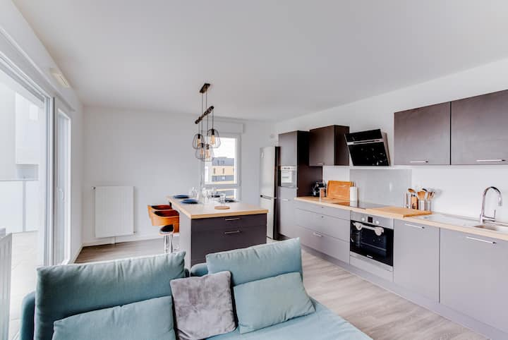 LE CEDRE - Nice Apt with Parking