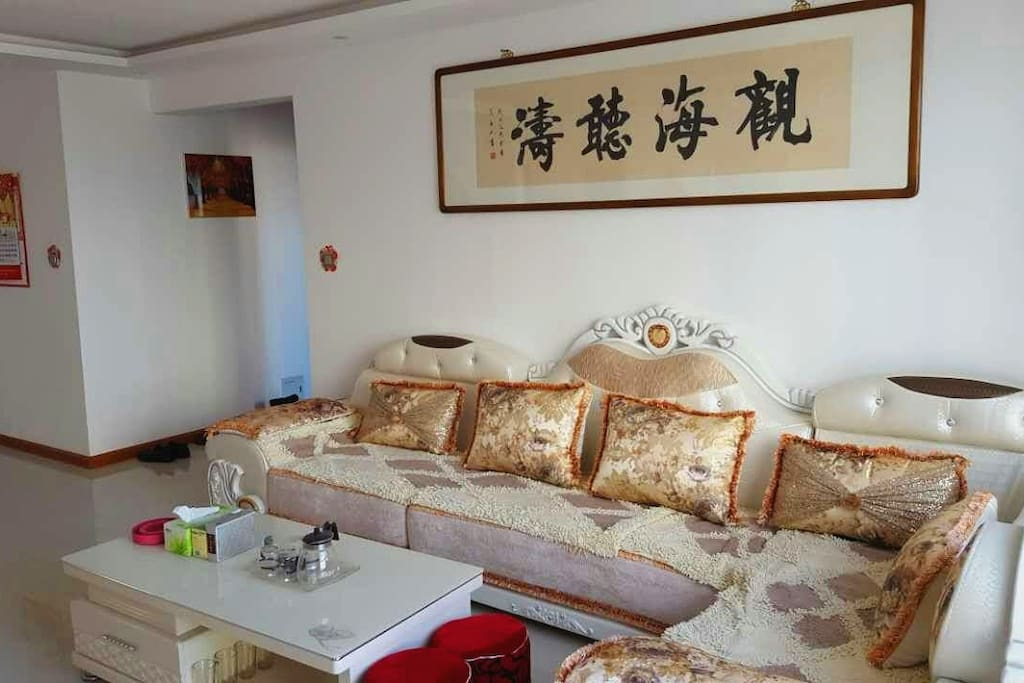 Living Room with sofa 客厅及沙发