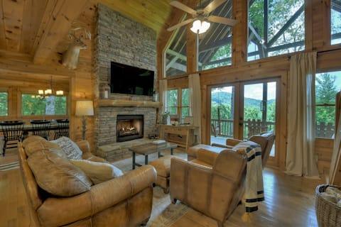 ❤ of Aska Adventure! Outdoor Fireplace/Hot Tub