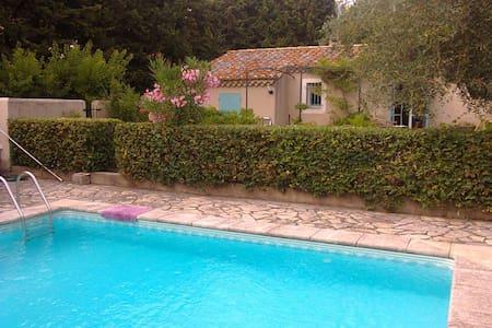 jolie maison avec piscine - Maussane-les-Alpilles