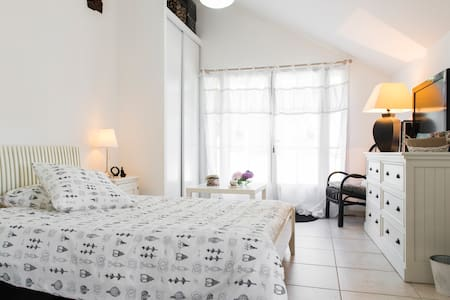 Fully equipped room in a bucolic ambience - Orvault - Villa