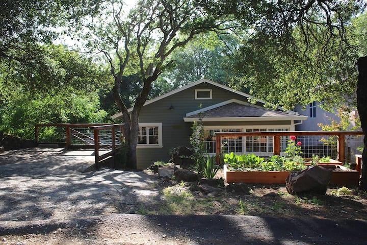 Garden Retreat in Sonoma ~ Casa Cara Mia