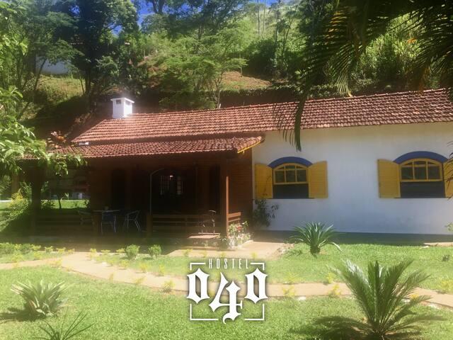 Quarto 2 (Vaga 1) Hostel 040 - Itaipava