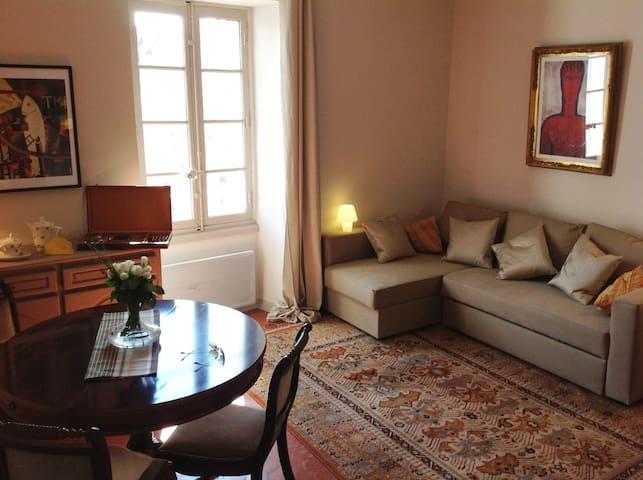 Appartement de charme climatisé - Lourmarin - Apartemen