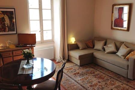 Appartement de charme climatisé - Lourmarin