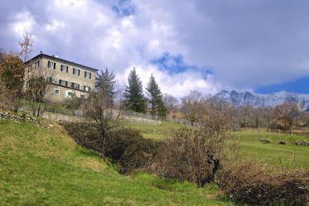 Splendida casa in pietra fine 800 - Filattiera - Talo