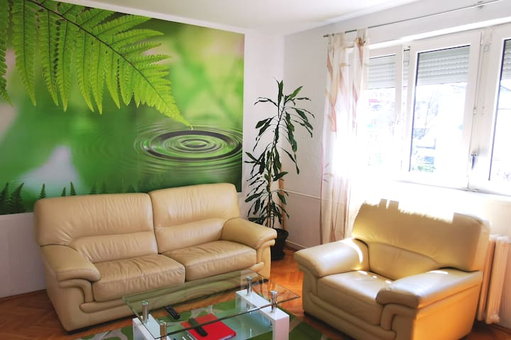 3Rooms City centre apartment with private parking
