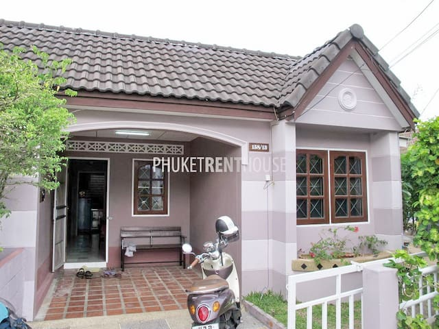 CAC 2 House, 2 Bedrooms, 2 KM. to Bangtao Beach - Phuket, Thailand - Casa
