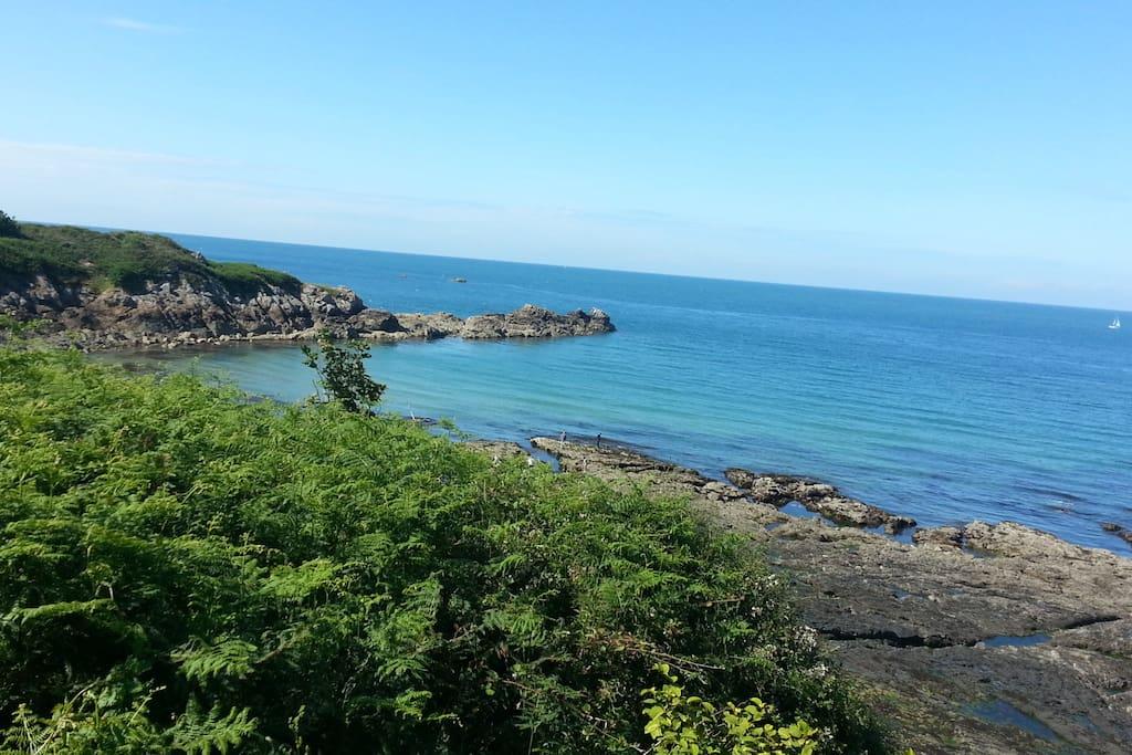 Baie à 10min