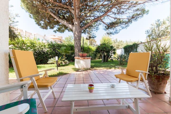Punta Secca Marina di Ragusa villa with garden