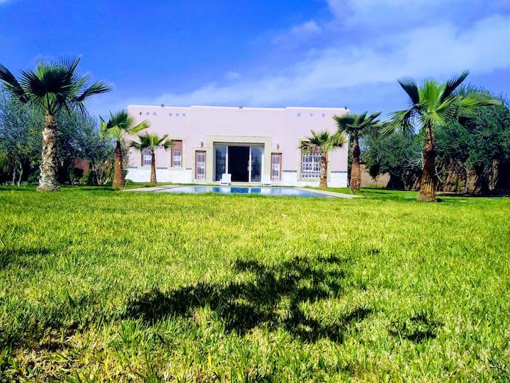 Villa rurale pour familles à 20 km de Marrakech