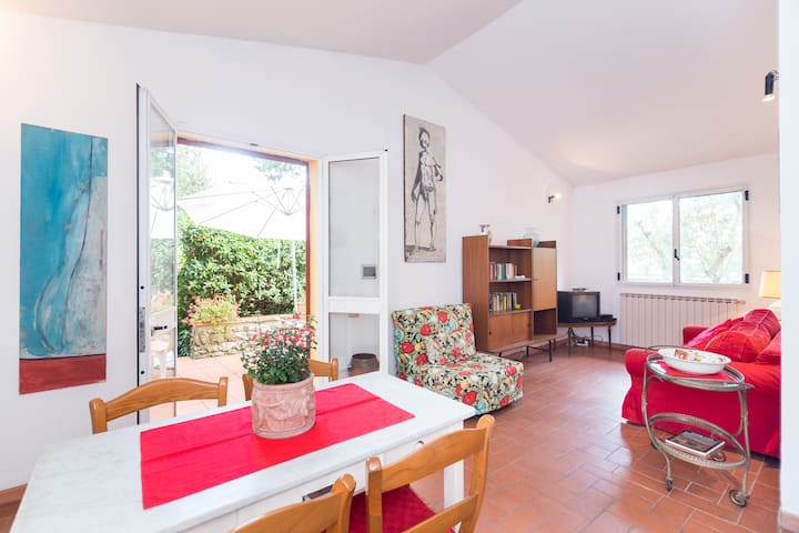 Small villa in the Chianti's hill - Greve in Chianti - Huoneisto