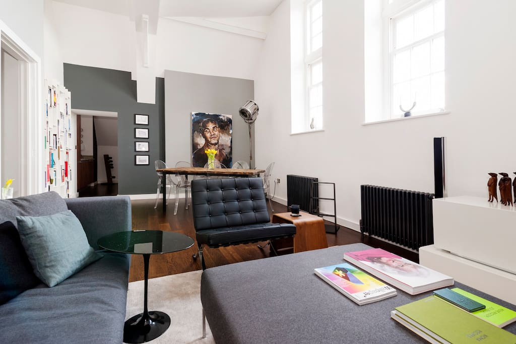 Dramatic 2 bed flat in islington flats for rent in for Dramatic beds