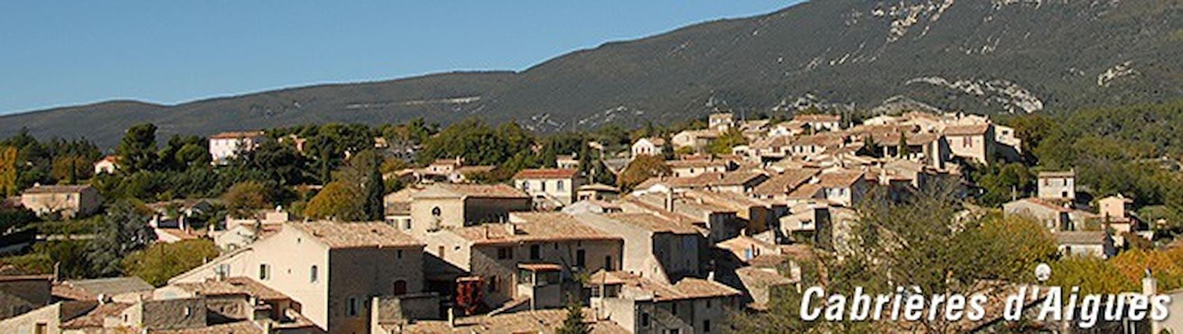 Gîte au pied du Luberon - Cabrières-d'Aigues - Ev