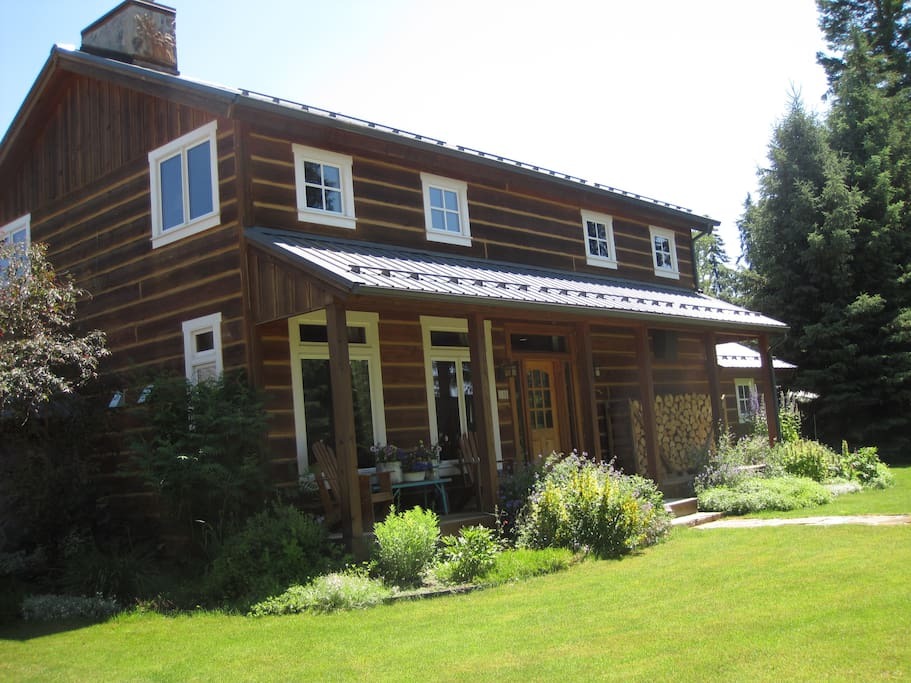 Front of House with Porch