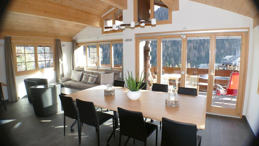 Chalet Zenit in Family ski Grimentz - Grimentz - Chatka w górach