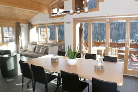 Chalet Zenit in Family ski Grimentz - Grimentz - 牧人小屋