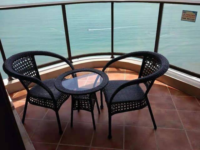 双月湾.外海.27楼高层海景标双房