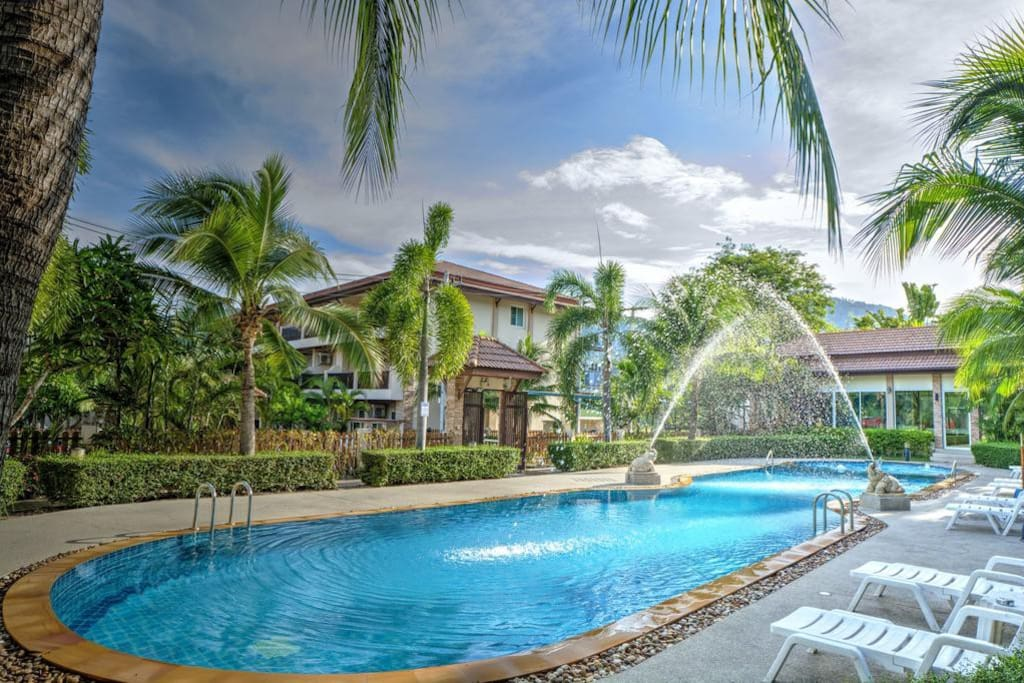 Property Perspective & Swimming Pool #1