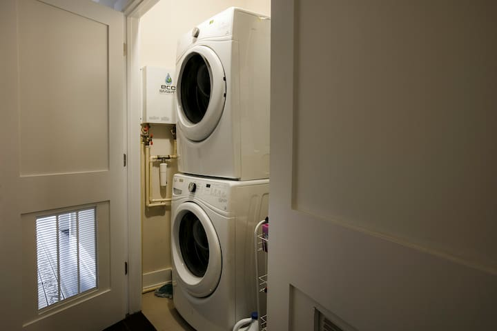 In house washer and dryer for any of your needs