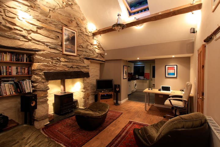 Snowdonia quarryman's cottage.