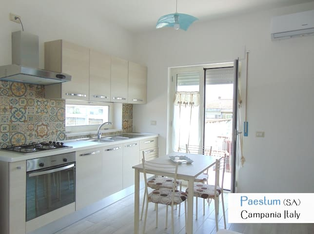Paestum apartment in villa