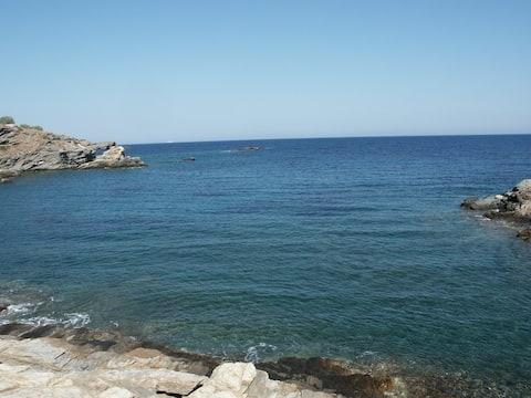 SYROS  Abela Best Beach Studio Apartment 1