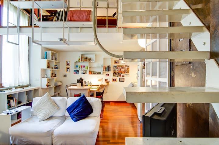 Loft di design  in centro a Milano
