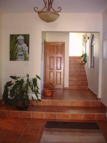 Entryway of The Hacienda