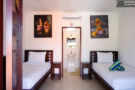 sanur twin bed room