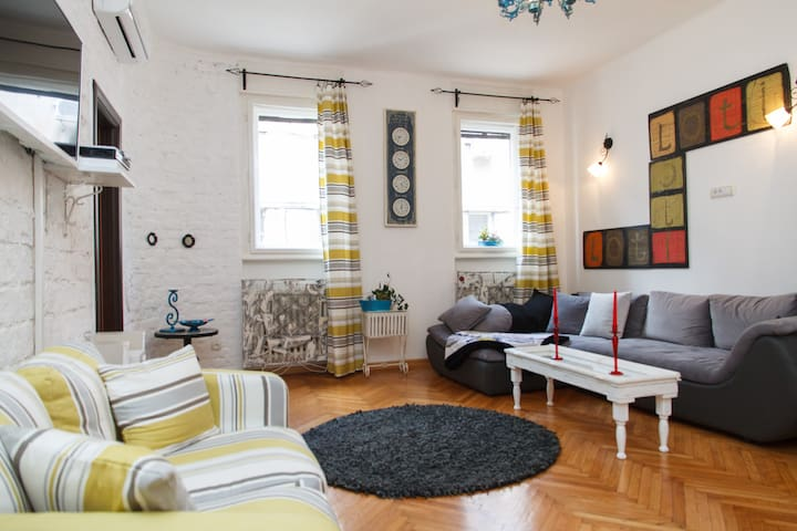 Antique apartment in the main street Kneza Mihaila
