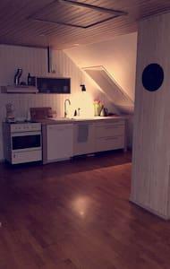 Hyggelig lejlighed med skråvægge - Odense