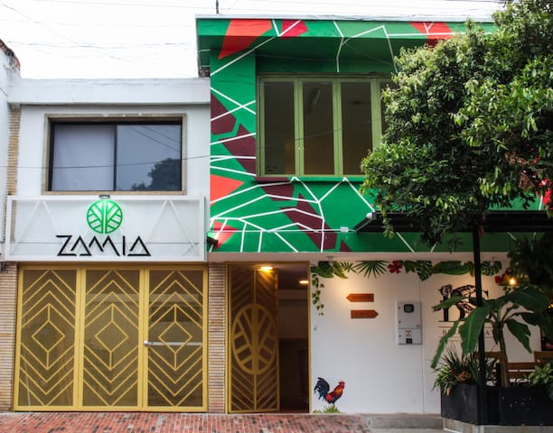 Zamia Hostel - Habitación doble privada
