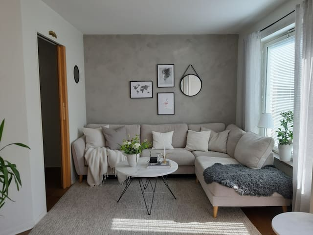 Apartment close to the city centre with AC