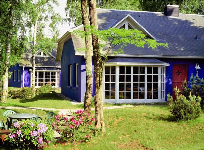 Grandioses Strandhaus (mit Kamin) direkt am Meer - Ückeritz - House