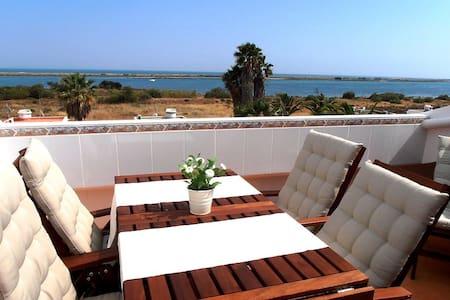 Terrace Flat with Magnificient Sea - Cabanas de Tavira