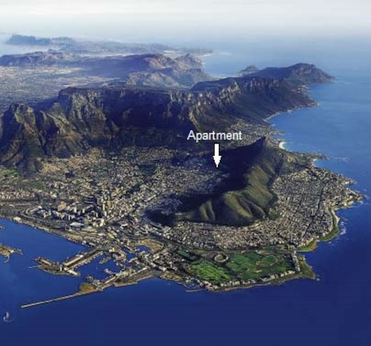 Location in Cape Town.