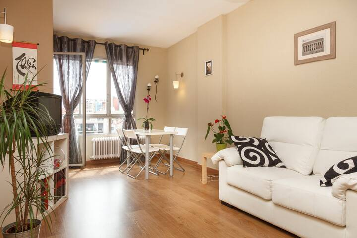 Cozy double room by Plaza España