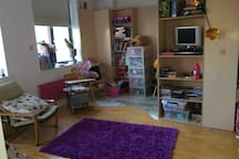 Playroom view 2 - converts into great double bedroom