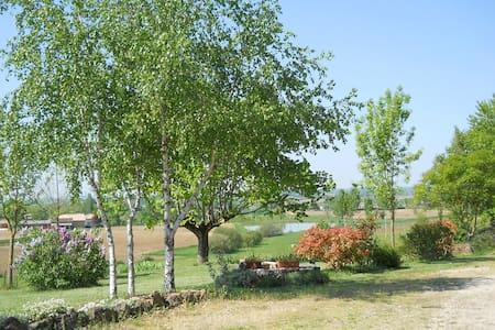 Vue sur lacs  et jardin - Monteils - Oda + Kahvaltı