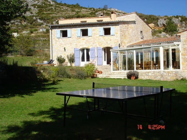 Maison 7 ch tennis piscine chauffée - Bézaudun-les-Alpes - Talo