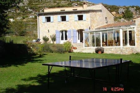Maison 7 ch tennis piscine chauffée - Bézaudun-les-Alpes - 独立屋