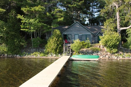 1926 Family Log Cabin on Quiet Maine Lake- Weekly - Eastbrook