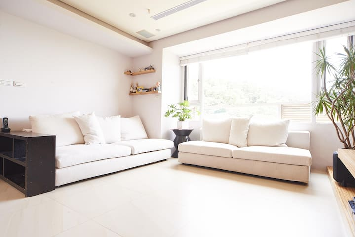 Green surrounding, Great Views 3BR - Danshui District - Byt