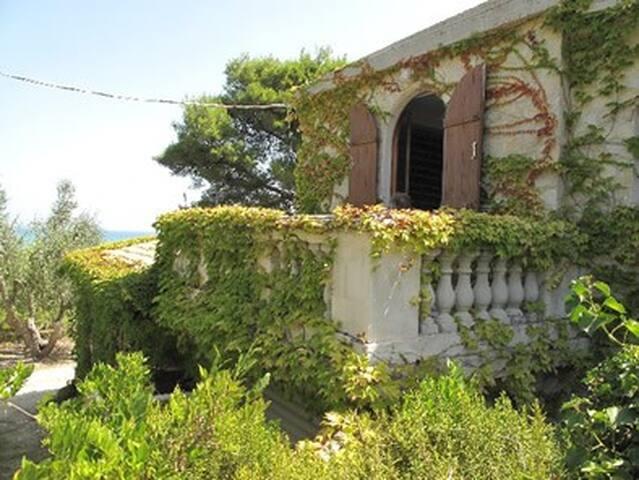 appartement dans villa avec jardin