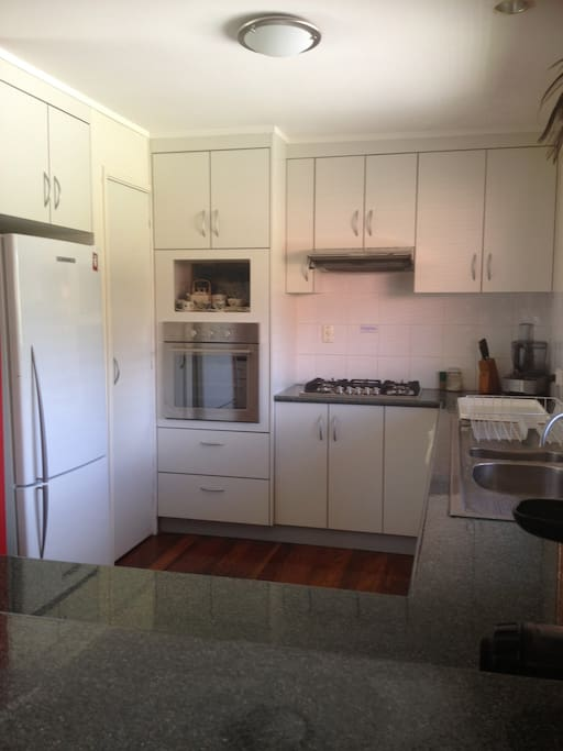 Kitchen with new ilve stovetop