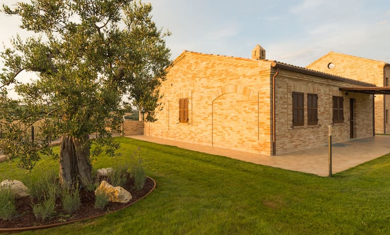Villa Potenza- Cottage Il Platano - Macerata - 公寓